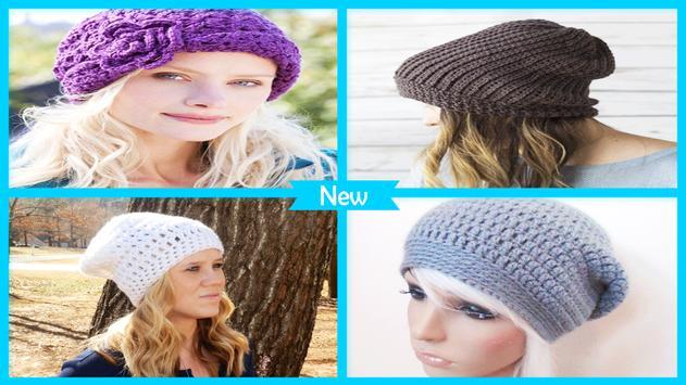 Easy Beginner Crochet Hat Patterns poster