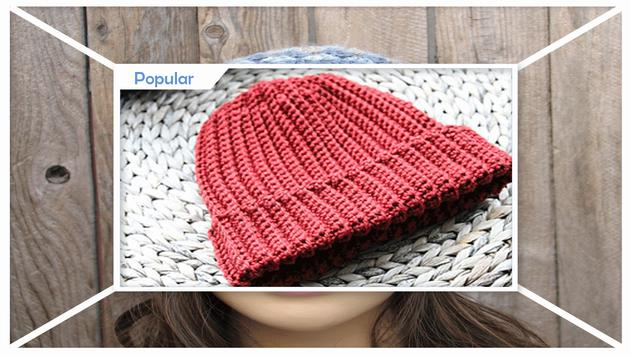 Easy Beginner Crochet Hat Patterns screenshot 3