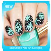 Snowflake Nail Art Designs icon