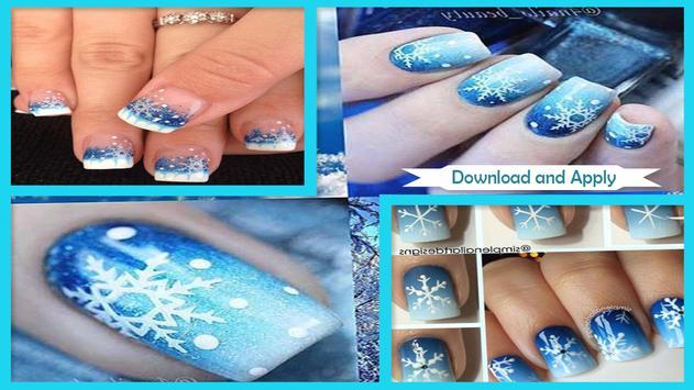 Snowflake Nail Art Designs apk screenshot