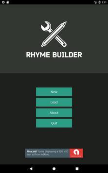 Rhyme Builder apk screenshot