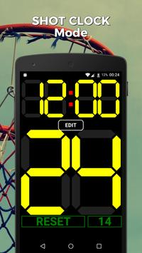 Scoreboard Basketball apk screenshot