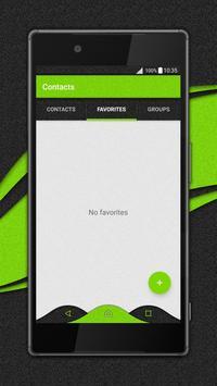 Material Abstraction Xperia™ theme apk screenshot