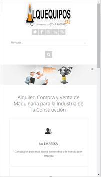 Alquequipos S.A.S. apk screenshot