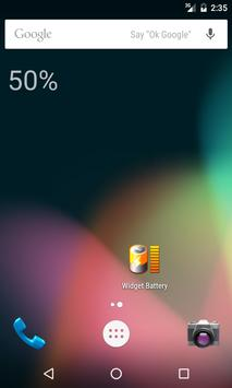 Minimal Battery Widget poster