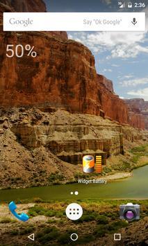Minimal Battery Widget apk screenshot