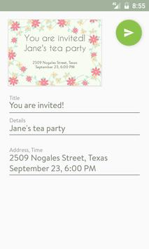 Party invitation maker apk baixar grtis social aplicativo para party invitation maker apk imagem de tela stopboris Choice Image