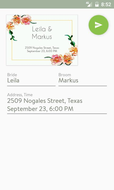 Party invitation maker apk download free social app for android party invitation maker poster party invitation maker apk screenshot stopboris Images