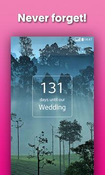 Wedding Countdown Widget - Wedtime screenshot 2