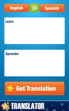 English-Spanish Translator apk screenshot