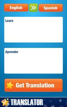 English-Spanish Translator screenshot 1