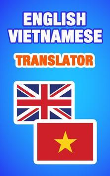 English Vietnamese Translator poster