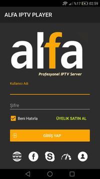 Alfa IPTV Player - BETA screenshot 1
