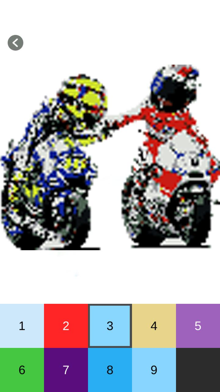Racing Moto Gp Pixel Art For Android Apk Download