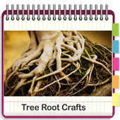 Tree root crafts icon