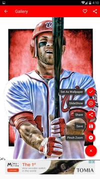 Bryce Harper Wallpaper MLB Apk Screenshot