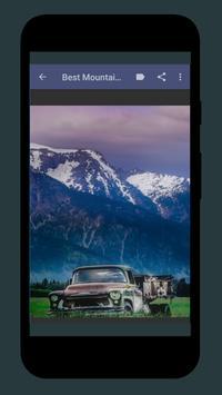 Beautiful Mountain Wallpaper screenshot 2