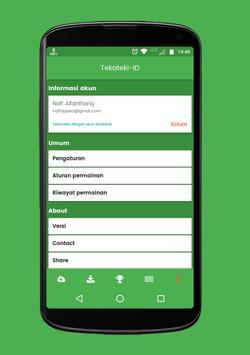 TekatekiID : Teka - Teki Silang TTS Indonesia screenshot 7
