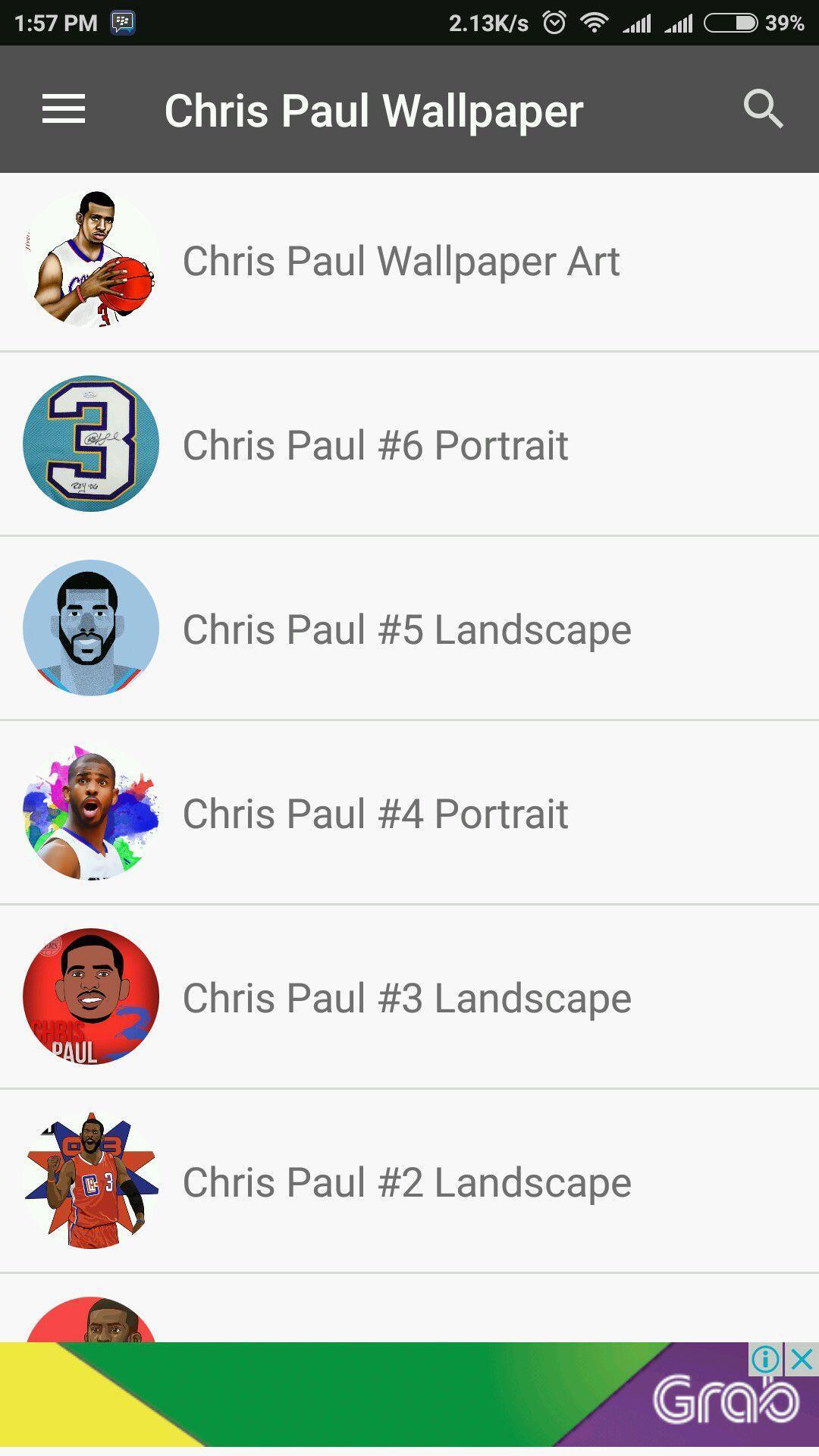 Chris Paul Wallpaper NBA poster