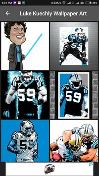 Luke Kuechly Wallpaper NFL Apk Screenshot