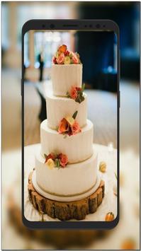 New Wedding Cake Ideas & Wallpaper HD poster