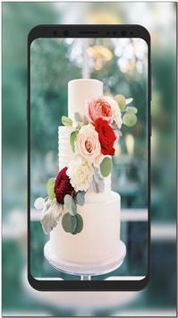 New Wedding Cake Ideas & Wallpaper HD screenshot 1