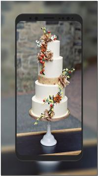 New Wedding Cake Ideas & Wallpaper HD screenshot 3