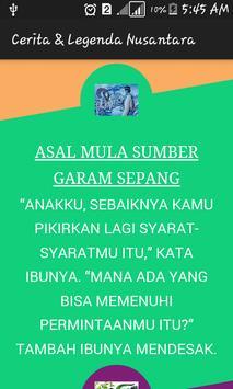 Cerita & Legenda Nusantara screenshot 1