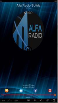 Alfa Radio Bolivia poster