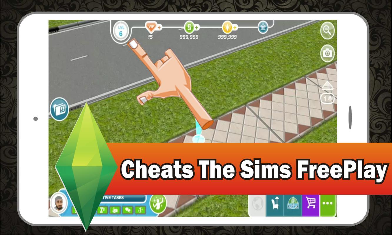 sim free play cheats