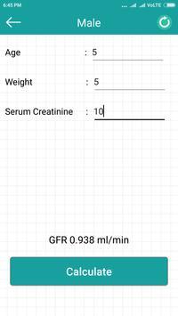 GFR Calculator apk screenshot