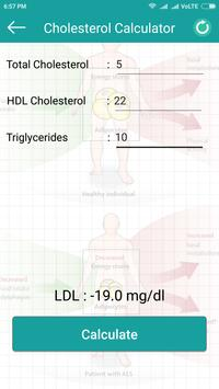 LDL Cholesterol Calculator apk screenshot
