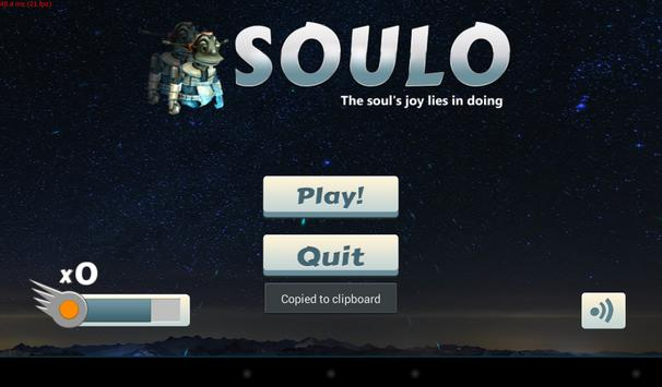 Soulo poster