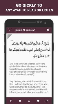 Surah Al Jumua screenshot 3