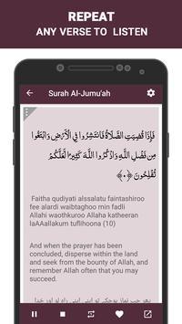 Surah Al Jumua screenshot 6