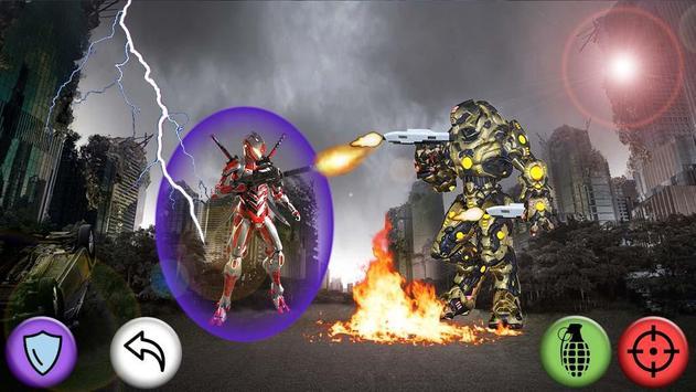Robot Shooter Super Soldier poster