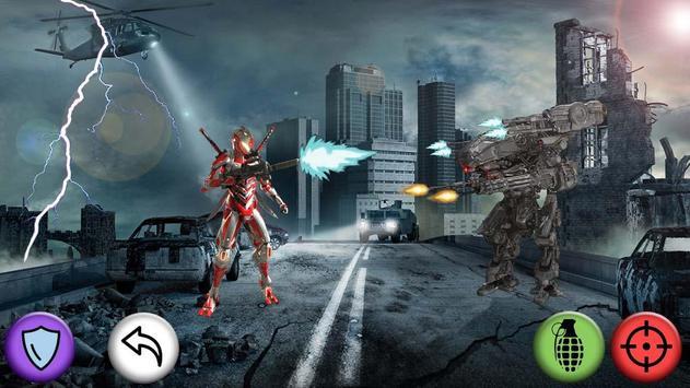 Robot Shooter Super Soldier apk screenshot