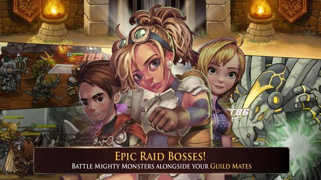 Raiders Quest RPG apk screenshot