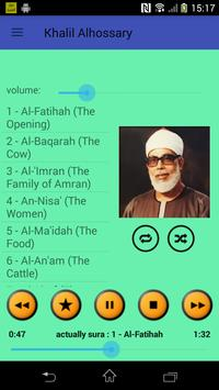 The Holy Quran mp3 (Voice Khalil Alhoussary)no ads poster