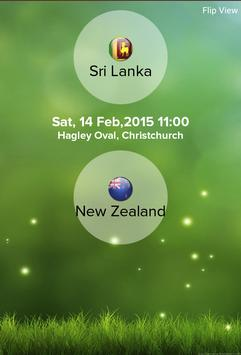 Cricket Worldcup 2015 screenshot 4