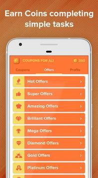 Free Coupons for AliExpress – Get Gift Cards apk screenshot