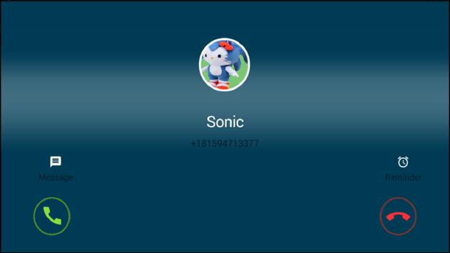 Call From Sonic Fun screenshot 3
