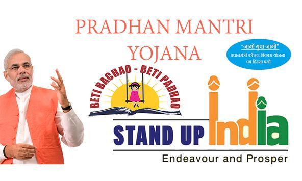 Pradhan Mantri Yojana poster