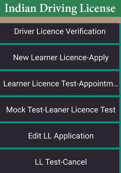 Driver Licence Details Free : India poster