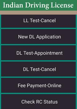 Driver Licence Details Free : India screenshot 1