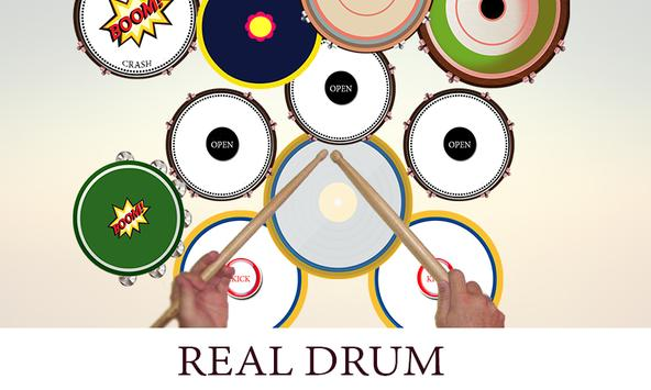 real drum poster