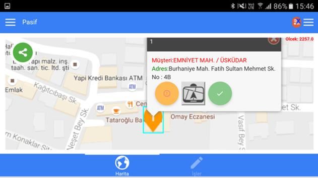 Rota Optimizasyonu&Navigasyon apk screenshot