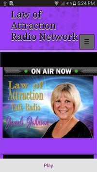 Law of Attraction Radio Netwrk poster