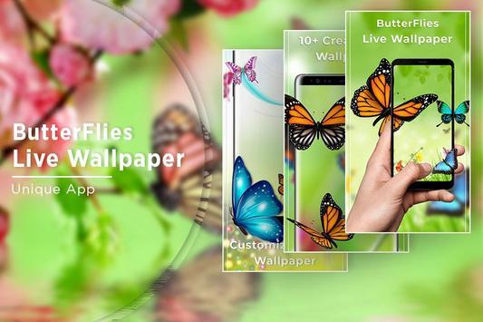 Butterfly Free Live Wallpaper screenshot 4