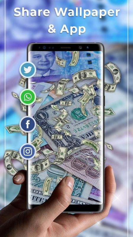 ... Falling Money Free live wallpaper screenshot 3 ...
